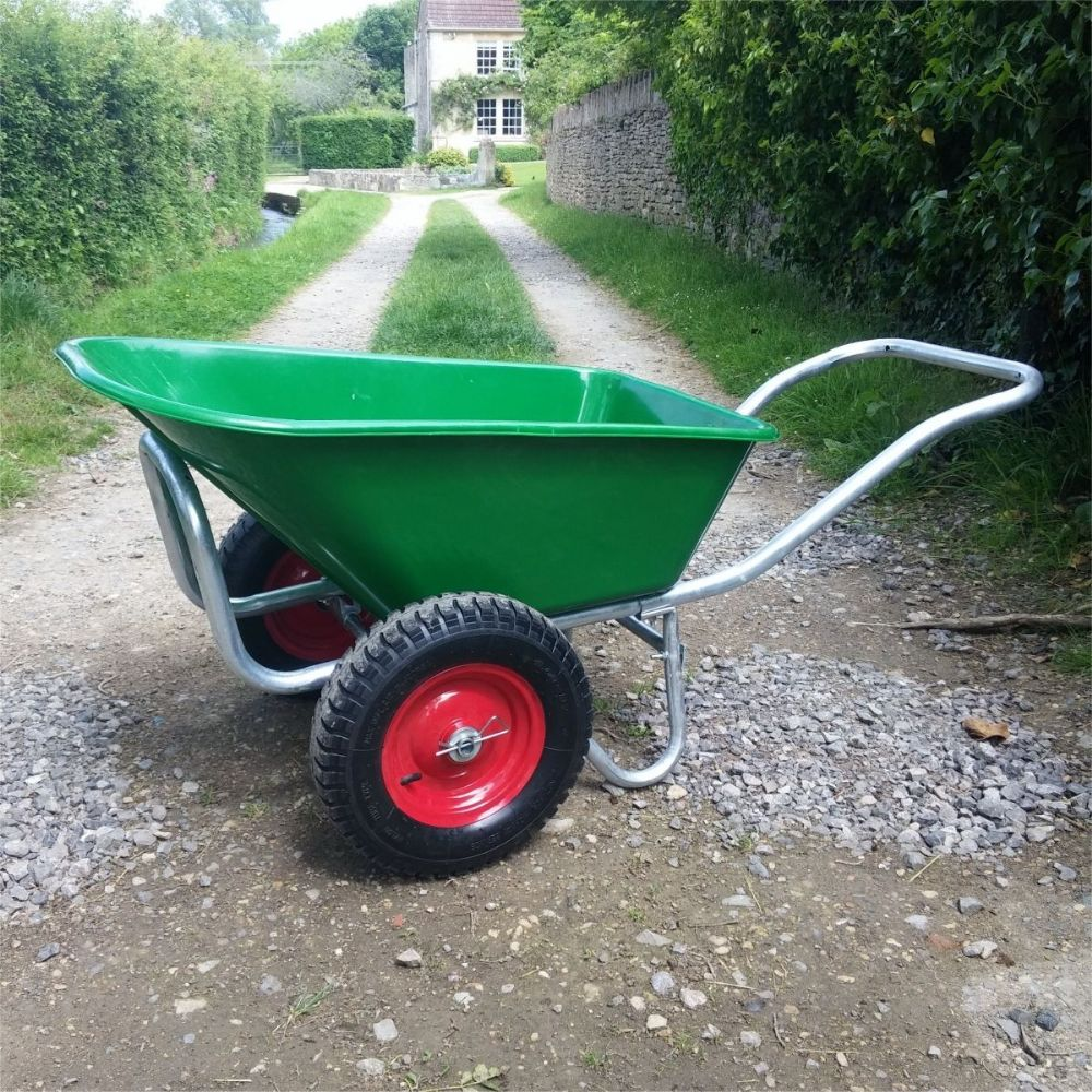 135 Henchman wheelbarrow | Big Twin Wheel Wheelbarrow